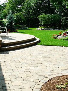 Interlocking Patio at Dutchman's Landscaping