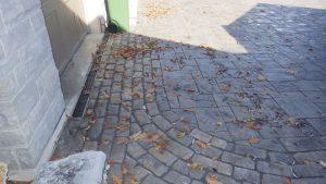 Interlocking Stone Driveway, landscaping