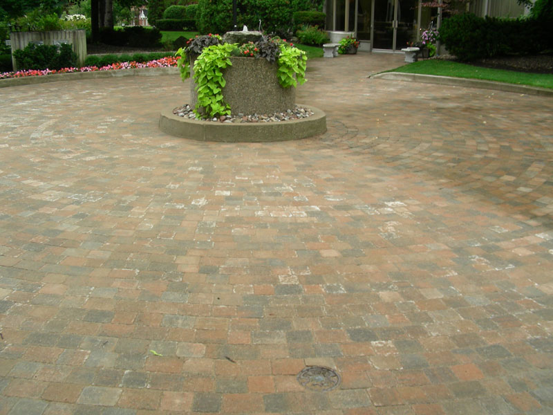 Interlocking Patio,