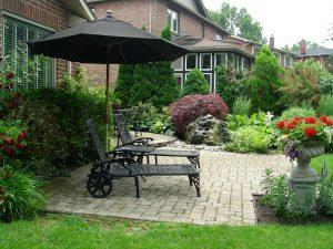 Stone Patio Interlocking Garden Landscaping