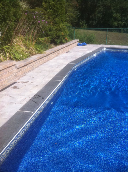 Retaining Wall Pool Landscaping