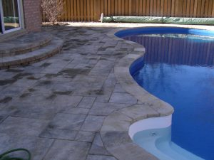 Pool Landscaping Coping