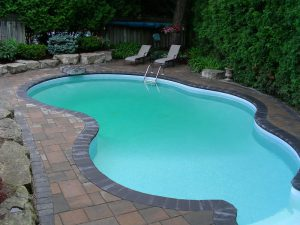 Pool Coping Retaining Wall Landscaping