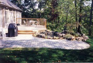 Interlocking Patio, Wood Deck Builder, Rock Garden