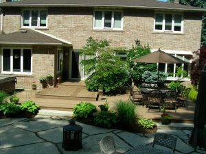 Interlocking Patio, Wood Deck Builder