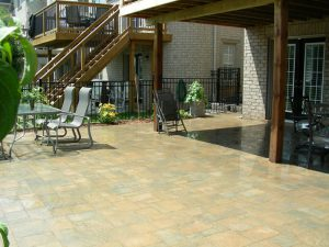 Stone Patio Interlocking Landscaping
