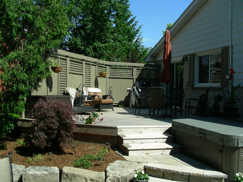 Wood Deck, Fence Builder