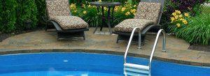 Pool Coping, Stone Interlocking Landscaping