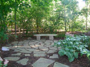 Stone Rock Garden Sanctuary