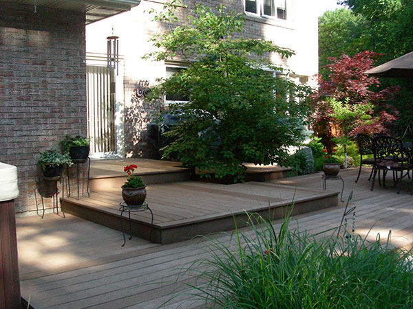 Wood deck, Patio, landscaper