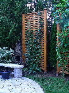 wood trellis, gazebos landscaping